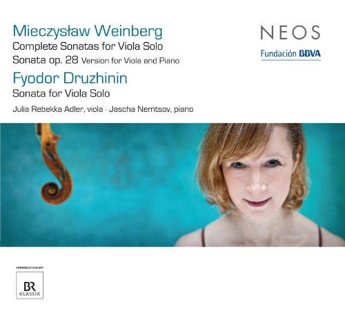 Weinberg: Complete Sonatas for Viola Solo - Sonata, Op. 28 - Druzhinin: Sonata for Viola Solo