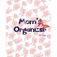 Mom's Organizer 2017 Diary: Flowers & Butterfly Design | The Best Weekly Schedule Diary At A Glance |Get things done, Weekly Planner, 52 weeks, 8x10in Large | Soft back cover