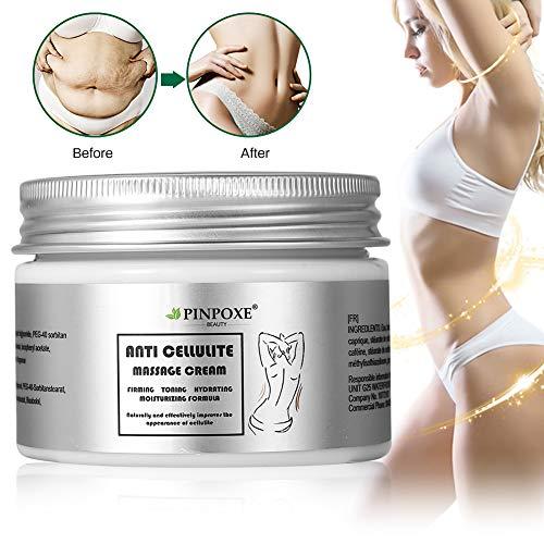 Cellulite Creme, Anti Cellulite, Cellulite massage Creme, Firming Creme, straffende Crème aktiviert die Haut zur Verbesserung der Hautkontur, Hilfe Bei Orangenhaut und Cellulitis