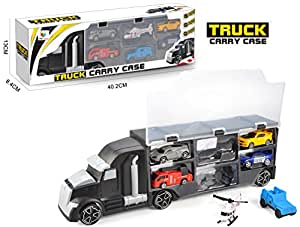 Toys Bhoomi 2 in 1 Model Truck Carry Case City Cars & Vehicles Great Toys for 2 Year Kids