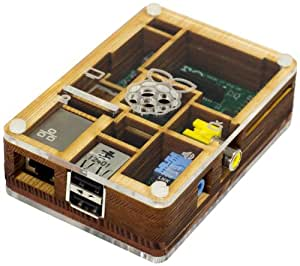 pimoroni pibow geh use aus holz f r raspberry computer zubeh r. Black Bedroom Furniture Sets. Home Design Ideas