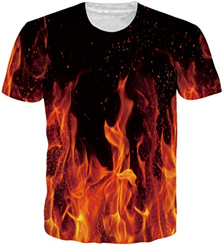d935dbab Loveternal Unisex Divertida T-Shirt 3D Impreso Camisas Hawaianas Casual  Llama Graphic Tops Manga Corta