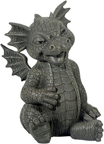 Figure de jardin Dragon rires décoration