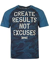 Tapout Results T-Shirt Manche Courte Top Haut Sport Casual Hommes