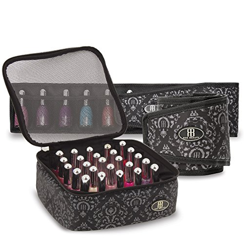 roo-beauty-nail-polish-varnish-set-manicure-storage-case-makeup-cosmetic-holder-in-imperial-black-by