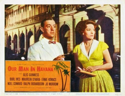 Our Man In Havana Plakat Movie Poster (11 x 14 Inches - 28cm x 36cm) (1959) E