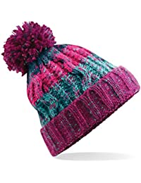 79ee4e25a6c 583 Winter Bobble Hat Beanie - Ski Snowboard Chunky Knit Unisex Men s  Women s