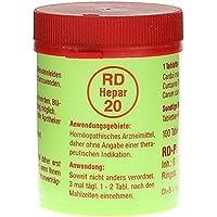 RD HEPAR 20 Tabletten 100 St preisvergleich bei billige-tabletten.eu