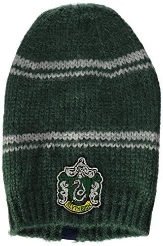 Slytherin Kostüm Zubehör - Cinereplicas - Harry Potter - Mütze- Offiziel lizensiert - Slytherin - Grün und Grau
