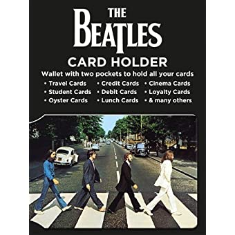 The Beatles Abbey Road Travel Pass Oyster Karte Halter