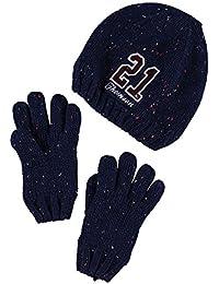 NAME IT - Set de bufanda, gorro y guantes - para niño