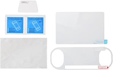 Magideal Tempered Glass Film Screen Protector Set for Sony PlayStation PSV 2000