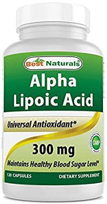 Alpha Lipoic Acid 300 mg 120 Softgels by Best Naturals from Best Naturals