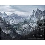 Póster Wallscroll/Rollo de pared The Elder Scrolls V - Skyrim [Valley/Valle]