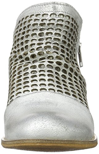 Buffalo Es 30899 Flash Perfurado, Bottes Classiques Femme Argent (Prata 01)