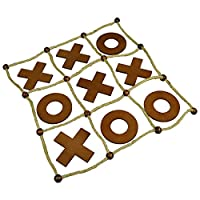 Selections Deluxe Wooden Noughts and Crosses (Tic Tac Toe)