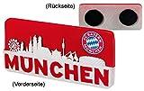 Unbekannt FC Bayern München Magnet Skyline 10,5x5cm