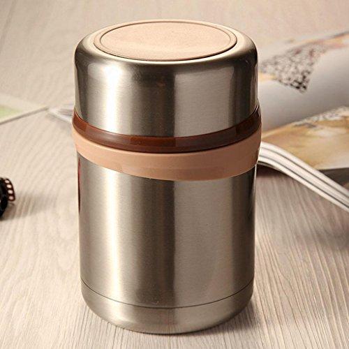 650ml klassische Edelstahl-Vakuumart und weise des Edelstahls 304 befeuerte Nahrungherdholding-Mittagessenkästen des Becherens , coffee , 650ml