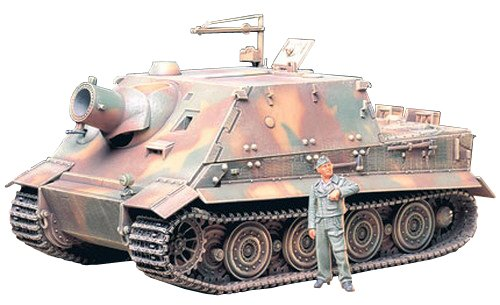 TAMIYA 300035177 - 1:35 WWII Sturmtiger, 38 cm, RW61 (1) - Panzer 1 38 35