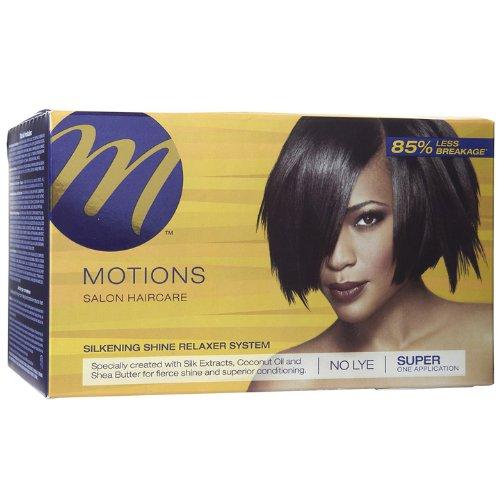 Motions Hair Relaxer Silkening Shine Super (Haar- und Kopfhautbehandlungen)