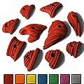 ALPIDEX 10 M - XL Klettergriffe im Set Henkel und Leisten in vielen Farben von ALPIDEX