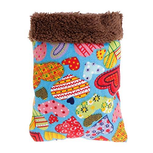 Fuwahahah Hamster Nest - Saco dormir invierno, felpa