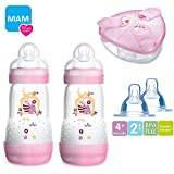 MAM Sparset III Anti-Colic Starter-Set mit Anti-Kolik Flaschen Set // MAM Anti-Colik Flasche 260 ml //