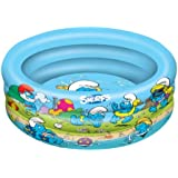 Die Schlüpmpfe 3 Ring Pool Planschbecken Kinder Schwimmbecken 100 cm