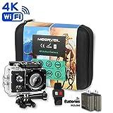 Meerveil T800 4K Action Kamera WiFi Sport Kamera Camcorder 30M Wasserdicht Unterwasserkamera...