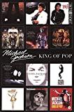 Michael Jackson - Album Covers Poster Drucken (60,96 x 91,44 cm)