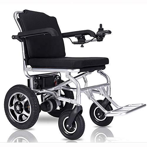 Wheel-hy Faltbarer Elektrischer Rollstuhl Für Ältere Menschen-Aluminium-Legierung Elektro-Rollstuhl