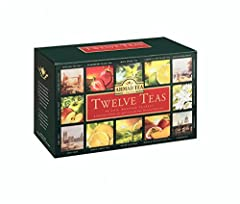 Idea Regalo - Ahmad Tea Twelves Teas (Pack of 1, Total 60 Enveloped Tea Bags) [Grocery]