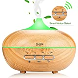 Ultrasonic Scented Aroma Diffusers, YEGU Upgrade Aromatherapy Essential Humidifier Diffuser with Automatic Sensor