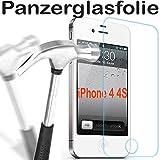 Apple iPhone 4 4S Glas Glasfolie 9H Panzerglas Panzerglasfolie Schutzfolie