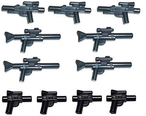 Lego® Star WarsTM 11-teiliges Waffenset, Blaster Pistolen Gewehre Waffen (Lego Krieger Waffen)