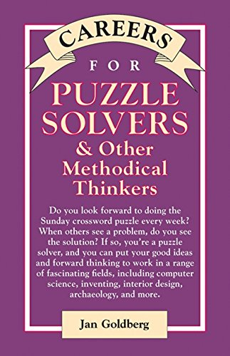 Careers for Puzzle Solvers & Other Methodical Thinkers (Careers For Series) (English Edition)
