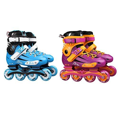 Professionelle Skates Schuhe Phantasie einreihig Rollschuhe Erwachsene Inline Skates Universal Skating Rink Skates für Männer und Frauen