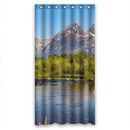 Custom Scenic Zeit 06Design Wasserdicht Badezimmer Duschvorhang Standard Größe 152,4x 182,9cm, Polyester 100 % Polyester, 36