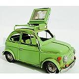 Ancienne Fiat 500 miniature en tôle galerie porte-bagages d'occasion  Livré partout en Belgique