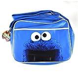 Blue Oficial Cookie Monster Sesame Street ~ Bolsa Retro
