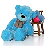 #3: PT Soft Toy 3 Feet Teedy Bear Blue