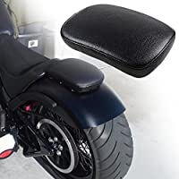 League & Co Moto único Asiento oscilante Sillín con 6Una ventosa para Harley Honda Suzuki Yamaha