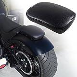 LEAGUE&CO Motorrad Einzelsitz Schwingsattel mit 6 Saugnapfs für Harley Honda Suzuki Yamaha