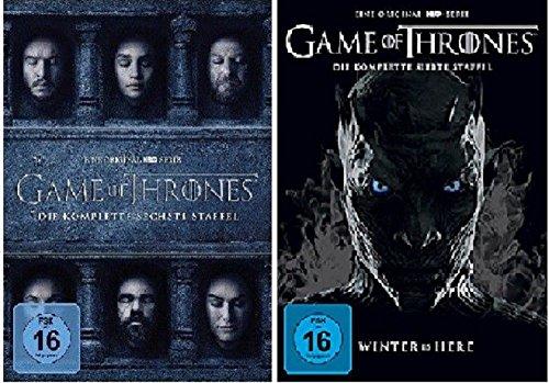 Preisvergleich Produktbild Game of Thrones Staffel 6+7 [DVD Set]