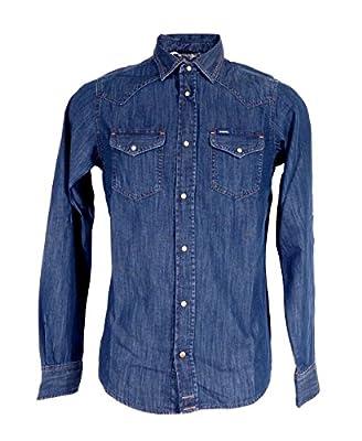 Mens Diesel New-Sonora Denim Shirt In Blue