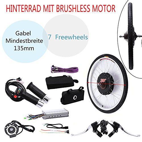 28 E-Bike Conversion Kits 36V 250W Elektrofahrrad Umbausatz Hinterrad  DEU DHL Radsport