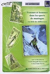Femmes et hommes dans les sports de montagne : Au-delà des différences