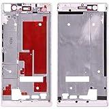 Piezas de repuesto de teléfonos móviles, iPartsBuy frontal de la carcasa del bisel del capítulo de pantalla para Huawei Ascend P7 ( Color : Blanco )
