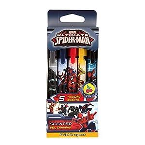 Scentco 70.SPMN6005 Spiderman - Lote de 5 Ceras de Gel