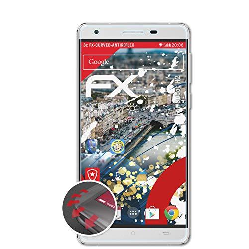 atFolix Schutzfolie passend für Cubot H2 Folie, entspiegelnde & Flexible FX Bildschirmschutzfolie (3X)